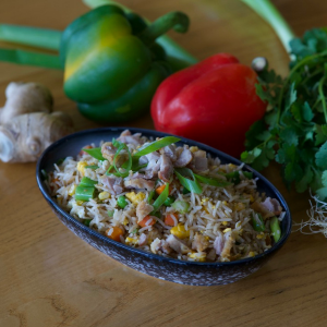 Chicken-Fried-Rice